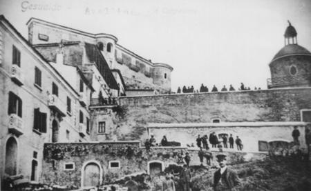 Castello e Cappella SS. Sacramento (foto storica)