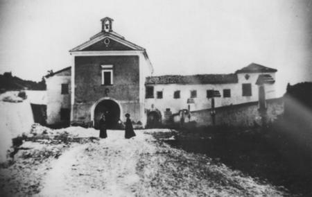 Chiesa S. Maria delle grazie (foto storica)