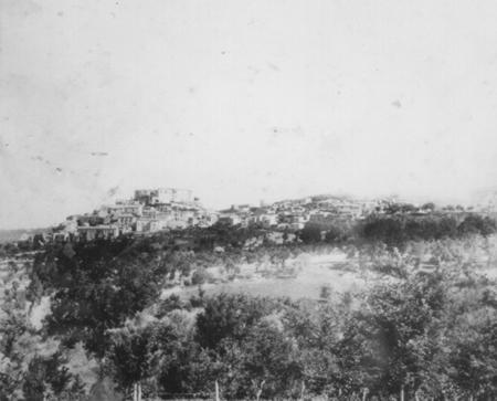 Gesualdo, panorama (foto storica)