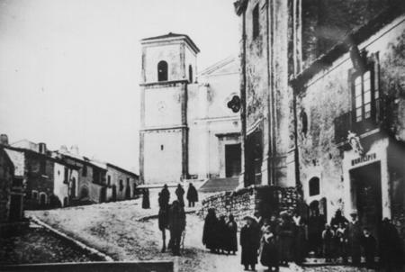 Via Municipio (foto storica)